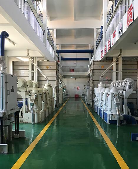 抚顺市中心粮库2×100吨大米生产线