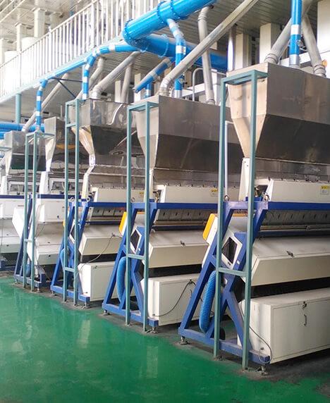沈阳第一粮库200吨大米生产线
