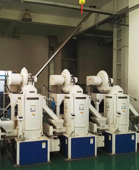 沈阳南方谷物100吨大米改造生产线