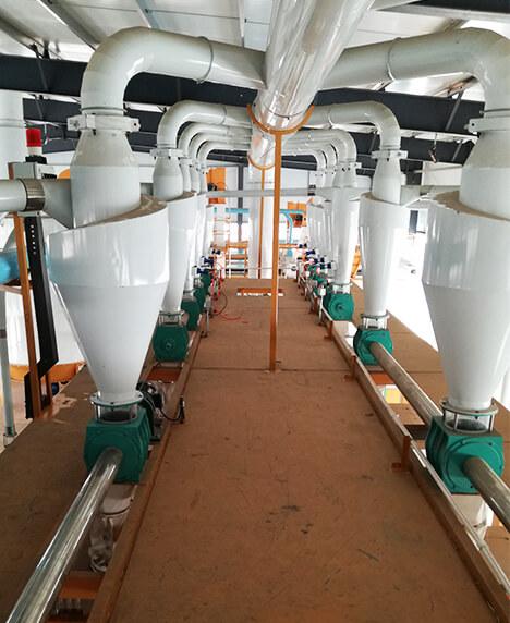河南东升黄金玉米食品有限公司100吨玉米联产生产线